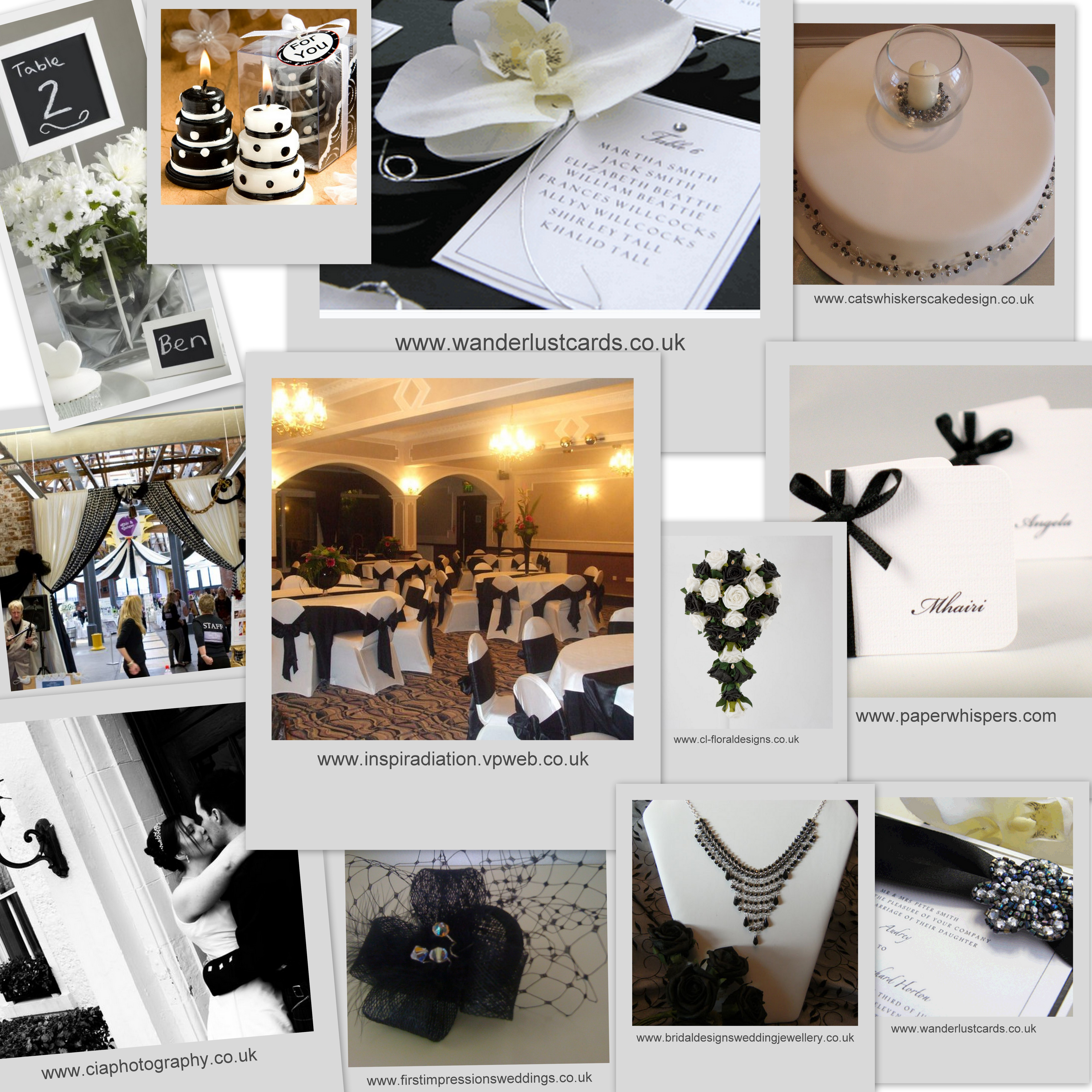 Black White Wedding Theme: Ideas For A Black And White Themed Wedding
